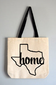 Texas Home Tote Bag