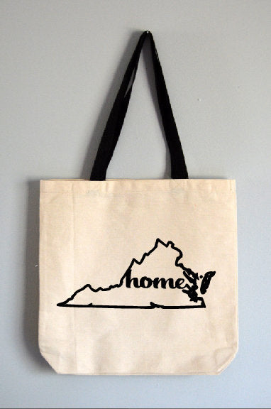Virginia Home Tote Bag