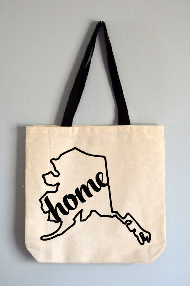 Alaska Home Tote Bag
