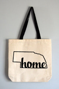 Nebraska Home Tote Bag