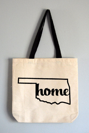 Oklahoma Home Tote Bag