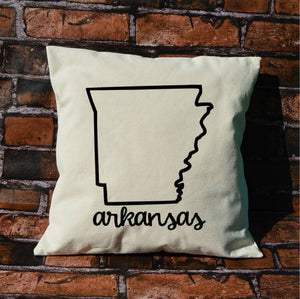 Arkansas Name Pillow