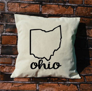 Ohio Name Pillow