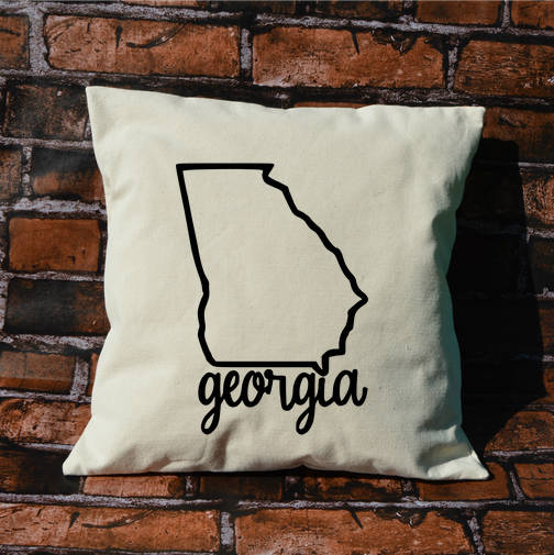 Georgia Name Pillow