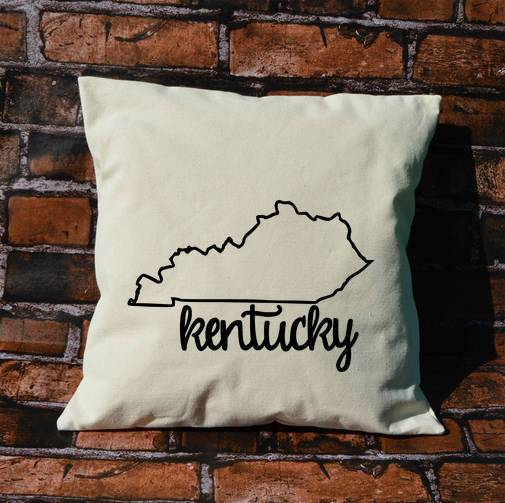 Kentucky Name Pillow
