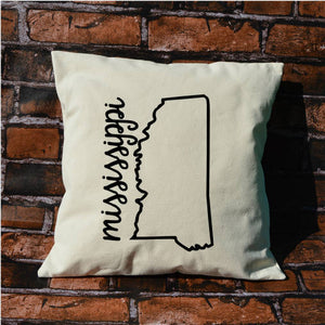 Mississippi Name Pillow