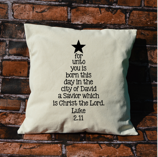 Luke Christmas Tree Pillow