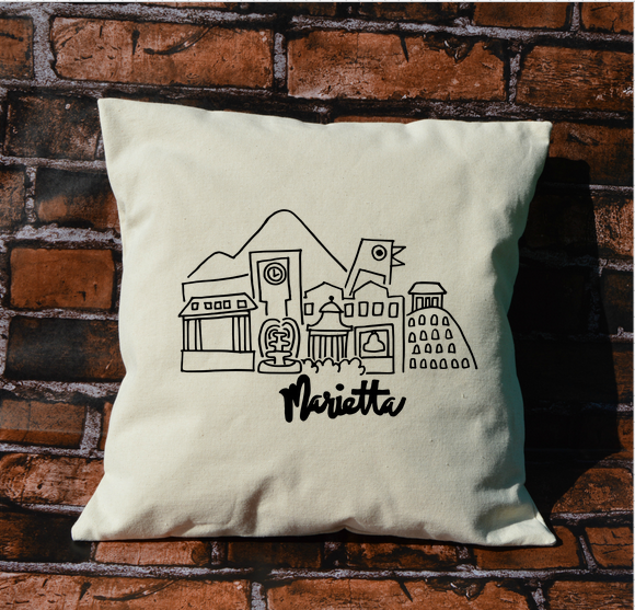 Marietta City Pillow