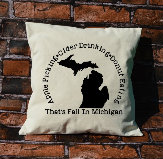 Michigan Fall Pillow
