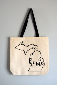 Michigan Home Tote Bag