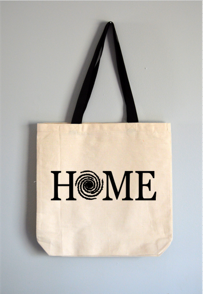 Milky Way Home Tote Bag