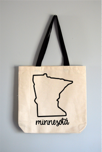 Minnesota Name Tote Bag