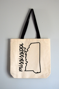 Mississippi Name Tote Bag