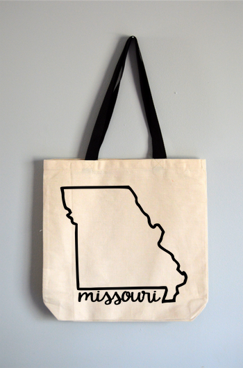 Missouri Name Tote Bag