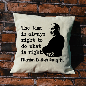 Martin Luther King Jr. Pillow