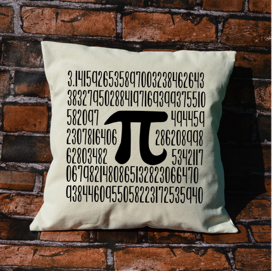 Pi Pillow