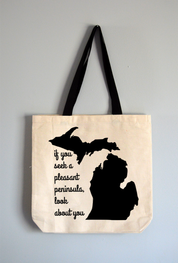 Pleasant Peninsula Tote Bag