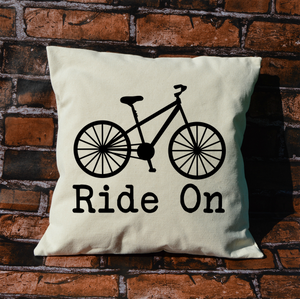 Ride On Bike Pillow