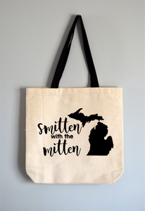 Smitten with the Mitten Tote Bag