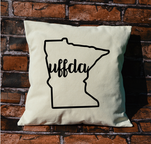 Minnesota Uffda pillow