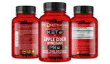 (3 Bottles - 90ct Capsules) Burn Fat For Fuel! Acv Pro Keto Pills Apple Cider Vinegar Capsules + Mct Oil Powder Diet Pills Energy Supplements (90 ct.)