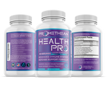 3 Bottles of Health Pro Immune Booster with Vitamin C, Zinc, Elderberry, Echinacea, Triple Probiotics & More