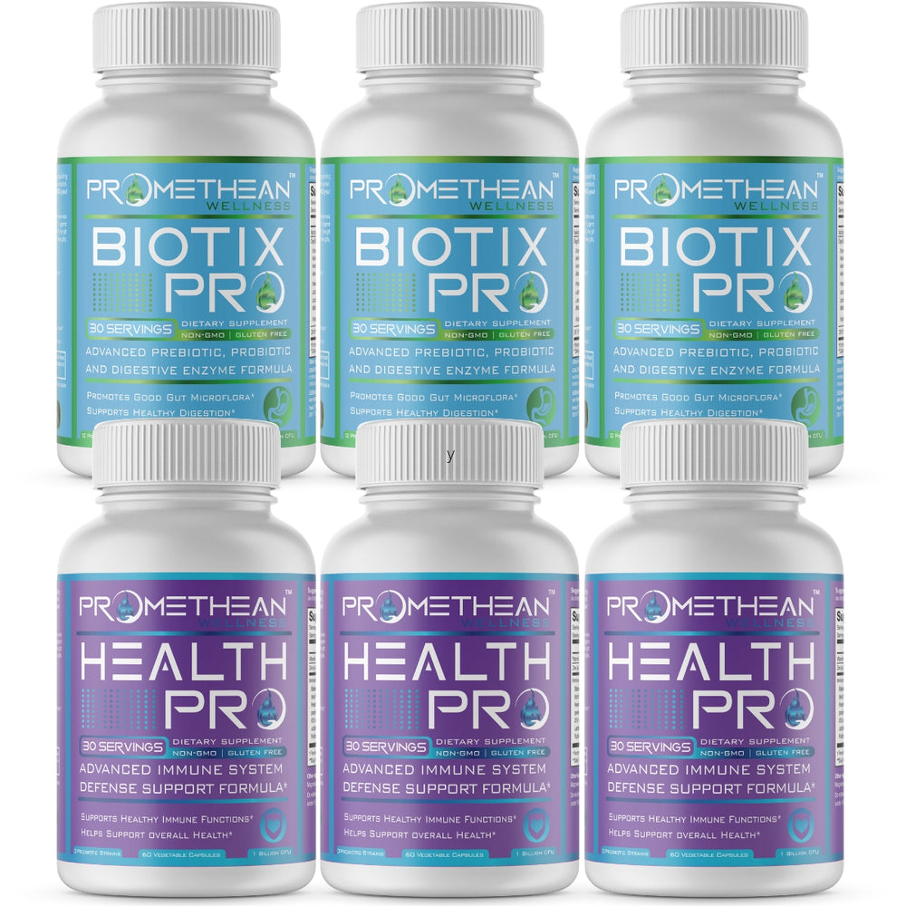 Immunity and Gut Health Stack - 3 Month Supply