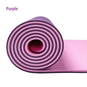 TPE Fusion Yoga Mat 6mm - MoonWake Yoga Co.