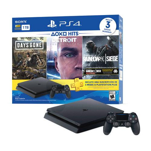 Consola PlayStation 4 Slim 1TB Hits Bundle 5 PS4