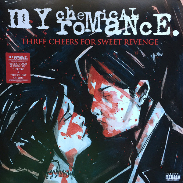 Vinilo My Chemical Romance THREE CHEERS FOR SWEET REVENGE