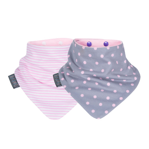 Pack 2X Baberos Dot & Stripes Cheeky Chompers