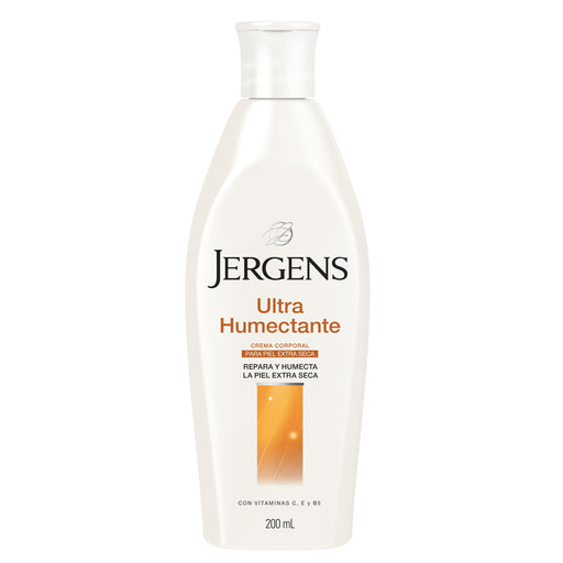 Crema corporal Ultra Humectante para piel extra seca 200 ml Jergens