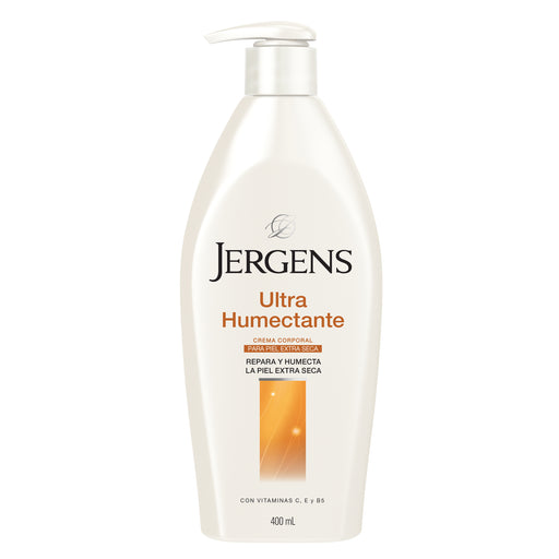 Crema corporal Ultra Humectante para piel extra seca 400 ml Jergens