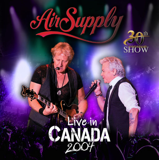 Vinilo Air Supply LIVE IN CANADA 2004