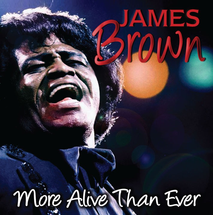 Vinilo James Brown MORE ALIVE THAN EVER
