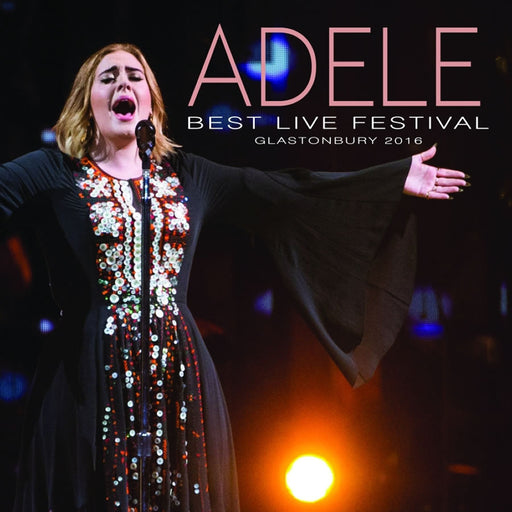 Vinilo Adele BEST LIVE FESTIVAL LIVE AT GLASTONBURY 2