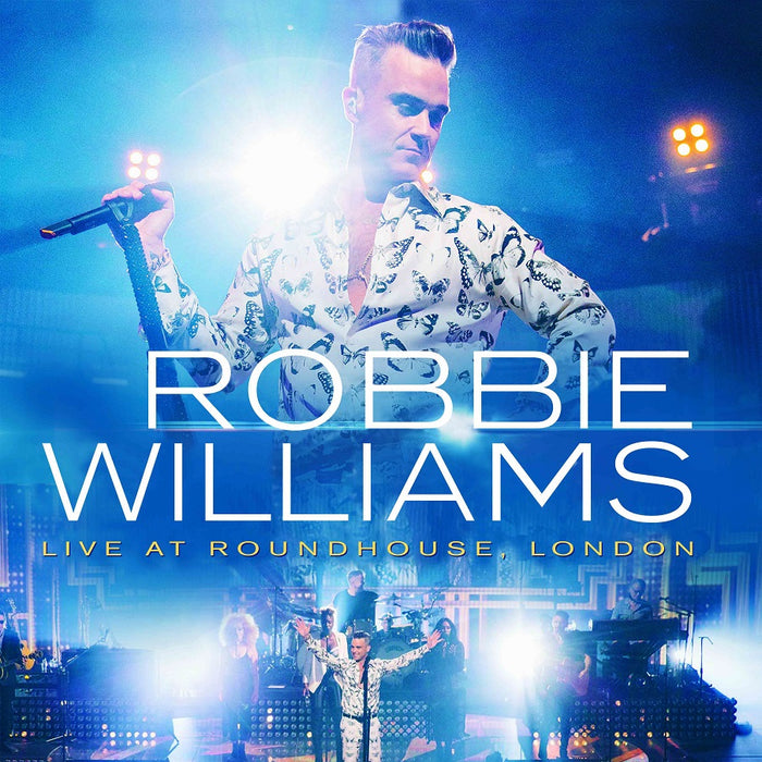 Vinilo Robbie Williams LIVE AT ROUNDHOUSE LONDON
