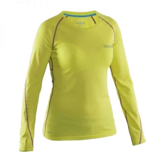 Salming Run LS Tee women Strong Lime