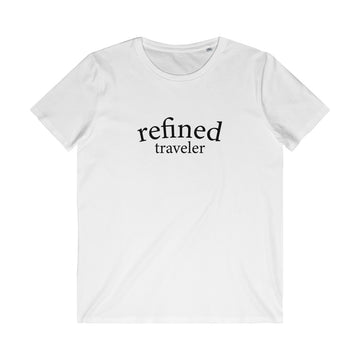 Organic Refined Traveler Tee (White)