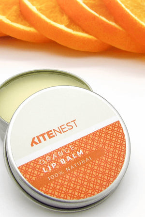 100% Natural Orange Lip Balm BEAUTY | CL KiteNest
