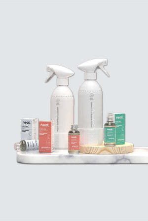 Neat. KITCHEN | CL 3x Plastic Free Fragrance Free Multi-Surface Concentrated Refill Bundle