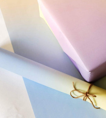 Happy Wrap GIFTING | CL A Touch of Summer Recycled Gift Wrapping Paper