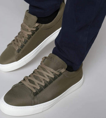 Humans Are Vain FOOTWEAR | Mens Abyss Recycled Ocean Plastic Trainer Khaki