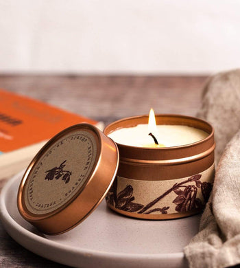 Vegan Bunny HOME | CL Autumn Leaves Plastic Free Vegan Rapeseed & Soy Candle 240ml