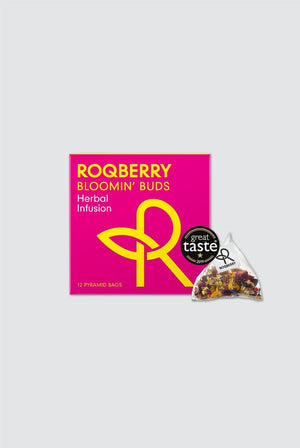 Roqberry GIFTING | CL Bloomin' Buds Plastic Free Biodegradable Herbal Tea Bags