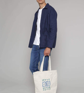 Idioma BAGS | Unisex Boketto Fairtrade Organic Cotton Canvas Bag