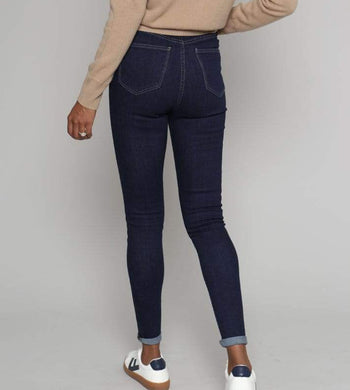 United Change Makers TROUSERS & JEANS | Womens Carrie Organic Cotton High-Waisted Super Skinny Jeans Indigo