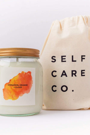 Self Care Co. HOME | CL Cinnamon, Orange & Clove Natural Soy Candle