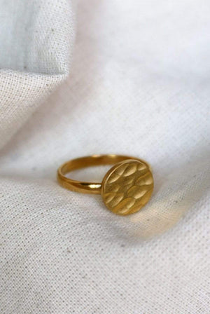 Kaligarh ACCESSORIES | Womens Circle Gold Ring