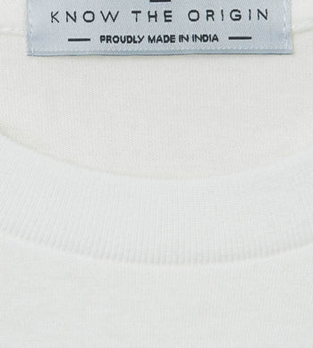 KTO X Freeset T-SHIRTS | Mens Fairtrade Organic Cotton T-Shirt Ivory White